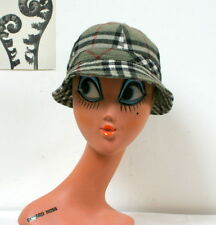 Bob chapeau d'hiver au style anglais vintage deerstalker