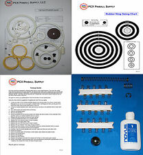 1975 Williams Pat Hand Pinball Basic Tune-up Kit - Includes Rubber Ring Kit