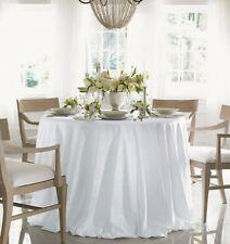 "SFERRA Acanthus 70x70"" Tablecloth - White"