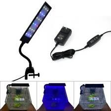 Aquarium Led Clip Lamp Light Rgb Flexible Arm Plant Grow Lighting For Fish Tank