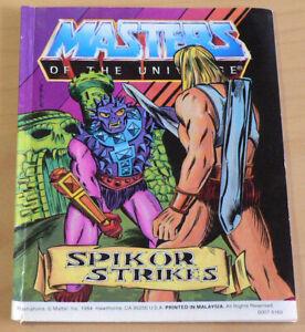 He-Man, Masters of the Universe Mini Comic: Spikor Strikes