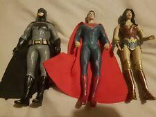 Wonder Woman Batman Superman Figures