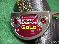 Brand New Titleist Scotty Cameron Golo 5 1St /500 Putter 34 inch