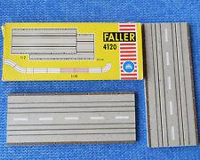 Faller AMS 4120--  2 x Gerade 20 cm in OVP  !