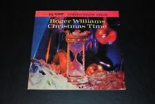 ROGER WILLIAMS W/THE CONCERT GRAND ORCHESTRA CHRISTMAS TIME (1959) KS-3048 VINYL