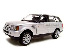 RANGE ROVER SPORT SILVER 1/18 DIECAST MODEL CAR BY MAISTO 31135
