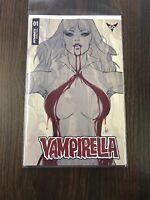 Vampirella #1 (2019) 1:25 Artgerm Variant Cover Dynamite Entertainment