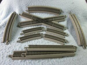 HO SCALE BACHMANN E-Z TRACK SYSTEM NICKEL SILVER  TRACK MISCELLANEOUS PIECES