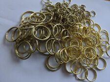 Pcs Findings DIY Jewellery Making Crafts Split Rings Black Brass 1.2x5mm  300