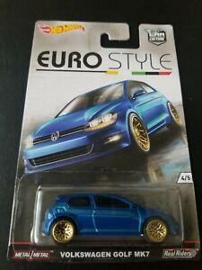 HOT WHEELS CAR CULTURE EURO STYLE VOLKSWAGEN GOLF MK7 ***SUPER DEAL***