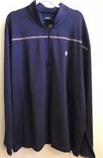 Men's Callaway Golf 1/4 Zip Blue Weather Series Pullover Sweatshirt XL $90