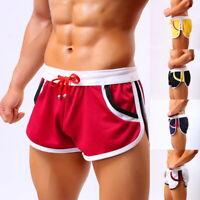 Herren Shorts Gym Laufhose mit Tasche Sports Badeshorts Kurzhose Freizeit P/D
