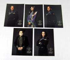 1997 Turner Broadcasting Babylon 5 TNT 5 x 7 Postcard Promo Set (5) Nm/Mt