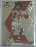 Coby White rookie ^Photo variation^ 2019-20 Panini Mosaic 🏀 Chicago Bulls