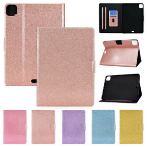 """Smart Stand Bling PU Case Kids Cover For iPad Pro 11"""" 3rd Gen 2021 Air 10.9 2020"""