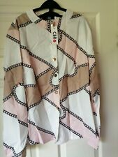 Womens Shirt Blouse Size Small CBR Chic Boutique Rose Exclusive Collection