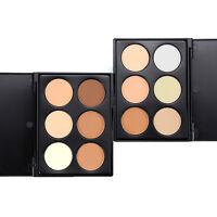 6 Color Makeup Face Contour Powder Highlight Concealer Bronzer Highlighter-~-