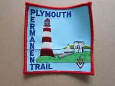 Plymouth Permanent Trail Walking Hiking Cloth Patch Badge (L3K)