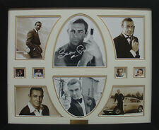 Sean Connery Limited Edition Signed Framed Memorabilia