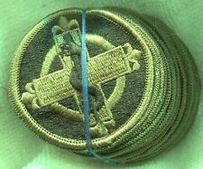 Dealer Lot of 20 Vintage US Army 338th Medical Brigade OD Subdued Patch
