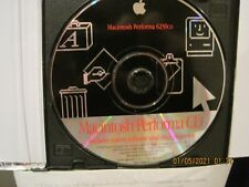 Apple Macintosh Performa 6230 Cd - system 7.5 software & other programs