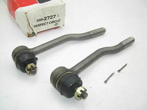 (2) Perfect Circle 269-2727 Steering Tie Rod End - Front Inner