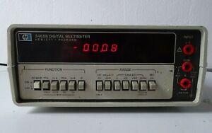 HP 3465B Digitales Multimeter (LS-124) *