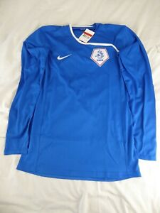 HOLLAND KNVB NIKE AWAY LONG-SLEEVE FOOTBALL SHIRT - SIZE LARGE - NEW WITH TAGS