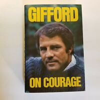 Signed - GIFFORD ON COURAGE By Frank Gifford | 1976 First Edition