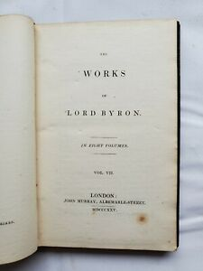 The Works of Lord Byron Volume 7 1825