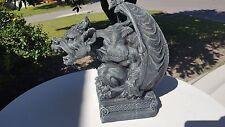 "Mythical 14"" Roaring Gargoyle Tabletop Sculpture Figurine Home Decor"