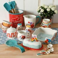 The Pioneer Woman Flea Market 25-Piece Mixed Vintage Cooking Essentials Gift Set