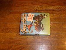 vintage BIG LITTLE BOOK: GENE AUTRY & RAIDERS OF THE RANGE, verygood