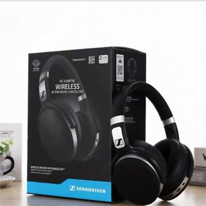 Wireless Black HD 4.40 BT Sennheiser Professional Bluetooth Over Ear Headphones