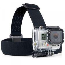 Kopfband für GOPRO HD HERO 3+ 3 2 1 Kopf Halterung Stirn Halter Zubehör Neu Top