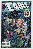 Cable #17 - Deluxe Edition (Nov 1994, Marvel) [X-Men] Jeph Loeb, Steve Skroce p