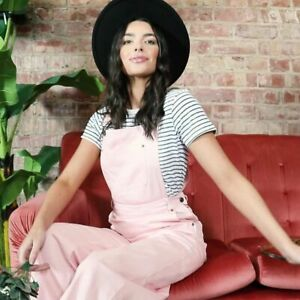 Dungarees Pink Size UK 14 LINDY BOP Leigh BNWT vintage style Nursing Summer Autu