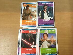 Sainsburys Heroes cards Disney Pixar Marvel Star Wars