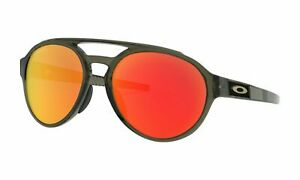 BRAND NEW Oakley Forager Asian Fit Olive Ink/Prizm Ruby OO9421F-0258 Sunglasses