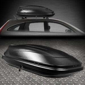 WATERPROOF CAR TOP CARGO CARRIER VEHICLE ROOF MOUNT TRAVEL STORAGE BOX W/ LOCK