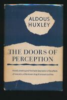 "Aldous Huxley ""Doors of Perception"" 1954 First Printing + Dust Jacket"