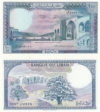 Libano grossa banconota 100 livres