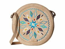 NWT Toms Embroidered Souks Southwest Canteen Suede Cross Body Handbag New $148