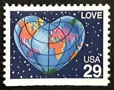 1991 Scott #2536 - 29¢ - LOVE - Single Stamp - MINT NH