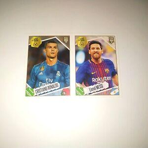 Panini FIFA 365 (2017-2018) - Ronaldo / Messi sticker №501 [Invest]