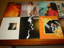 CLIFF RICHARD ( 10 ) TEN ORIGINAL VINYL LP RECORDS INCL 2 DOUBLE ALBUMS VGC