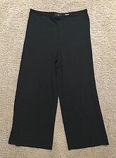 JONES NEW YORK Women's Petite Black Dress Slacks - Capri Length - Size PM (5203)