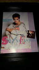 Sheena Easton Best Kept Secret Tour Rare Original Promo Poster Ad Framed!