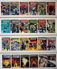 Robo Cop   Lot of 27 comics   See below for Issue #'s   VF   See photos below