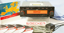 Becker BMW Indianapolis 7969 Navi CD Radio Komplett Set